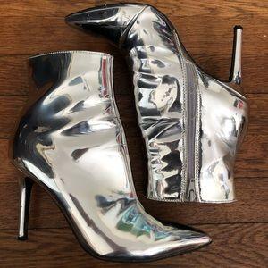 Thalia Sodi Metallic Boots